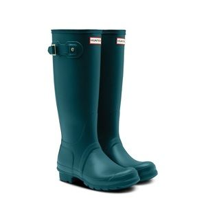 Hunter Original Galvanize Tall Rain Boots